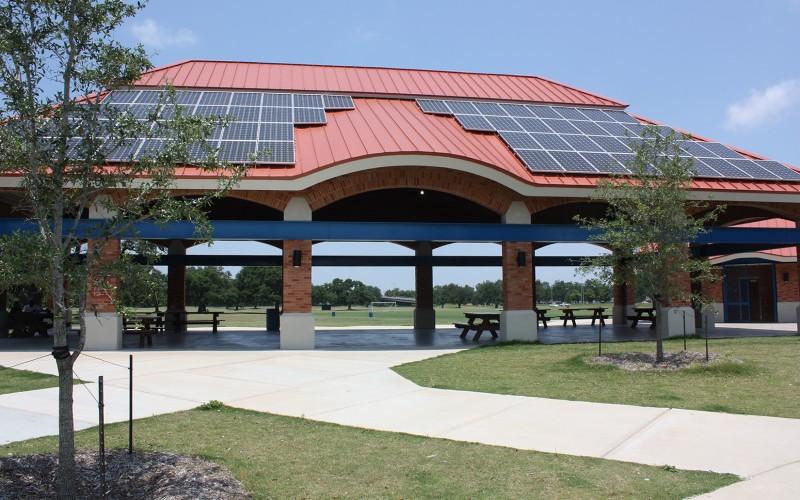 city park shelter